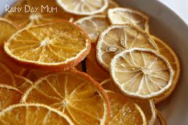 how to citrus fruit for decorations