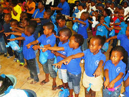 november mega christmas party for 61 creches in diepsloot the