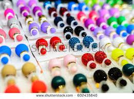 plastic earrings plastic earrings stock images royalty free images vectors