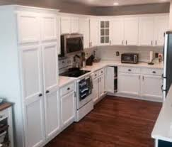painting oak cabinets white before and after before and after photos of kitchen cabinet painting denver