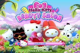 kitty beauty salon ios sanrio digital