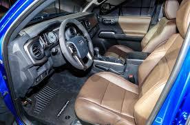 toyota tacoma interior 2017 2016 toyota tacoma first look motor trend