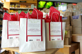 bag gift donation at pharmaca west seattle junction
