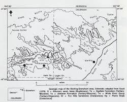 Colorado Hunting Unit Map by The Stoneham Barite Locality Stoneham Colorado U2013 The Collector U0027s