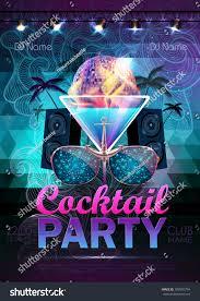 disco ball background disco cocktail party stock vector 308592734