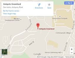 antipolo map greenland antipolo sta lucia land inc
