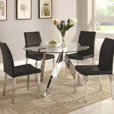 in large contemporary glass dining tables large contemporary