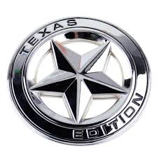 texas jeep stickers new 3d metal texas star logo emblem badge sticker decal for ford