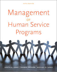 management of human service programs 5th edition cengage