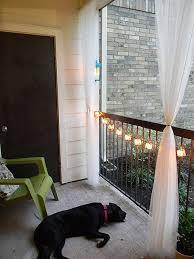 balcony curtain outdoor curtains for balcony decor mellanie design