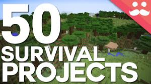 Minecraft Project Ideas 50 Projects For Your Minecraft Survival Worlds Youtube