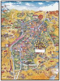 Maps Of The Usa Large Detailed Tourist Illustrated Map Of Las Vegas Las Vegas