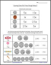 adding money worksheet penny nickel dime quarter money