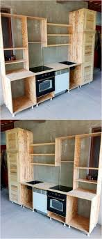 kitchen cabinets made out of pallet wood 16 adorable diy indoor and outdoor ideas of wood pallet