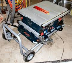 Bosch Table Saw Review by Bosch Portable Table Saw Review Updated 4 16 2007 By Mark A