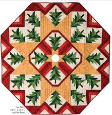 free pattern day christmas tree skirts quilt inspiration