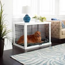 dog home decor keep your home looking neat and sharp with this white wooden pet
