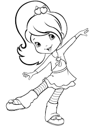 strawberry shortcake coloring pages to print strawberry shortcake 56 coloringcolor com