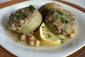 cuisiner simple artichauts farcis a la mie marka karnoun mahchi bel beba cuisine