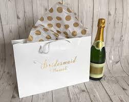 bridesmaid gift bag bridal party gift bag bridesmaid gift wedding party gift