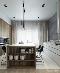 Kitchen Interiors 4 Sleek Interiors Where Wood Takes Center Stage Kitchens