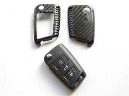 lexus key fob skin deluxe real pure carbon fiber key cover case skin shell fob for vw