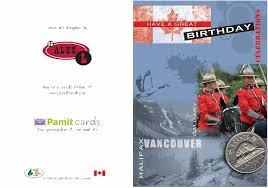 canada day greeting cards printed and mailed for you by the