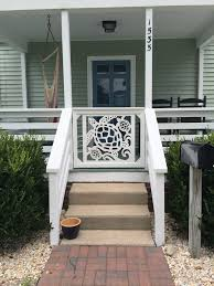 Porch Steps Handrail Patio Inspirational Spaces For Artful And Practical With Porch