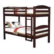 Mainstays Twin Over Twin Wood Bunk Bed Espresso Walmartcom - Espresso bunk bed