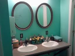 Teal Bathroom Ideas by Oval Bathroom Mirrors For Traditional Design U2014 Bathroom Decor
