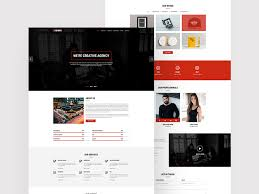 jyonik creative one page template u2013 free resource u2013 uxfree