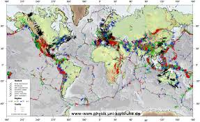 Georgia Tech Map Eas4312 6312 Geodynamics Ga Tech Supp