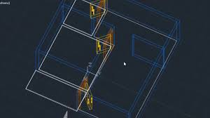 autocad 3d modeling floor plan tutorial basic youtube