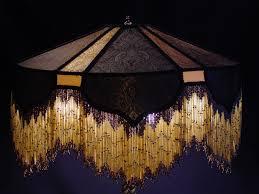 decorations black and gold victorian lamp shining light studio