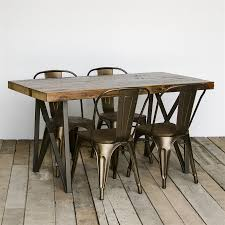 dining tables inspiring reclaimed wood dining table large