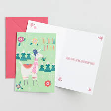 fa la la llama boxed cards set of 15 world market