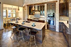 light stained concrete floors stained concrete floors hall farmhouse with mosaic tile pendant lights