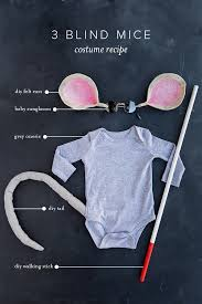 Baby Mouse Costume Halloween 4 Easy Halloween Costumes Baby House Lars Built