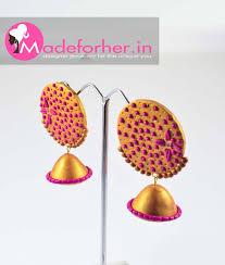 buy earrings online buy stylish golden color fashion earring online best price