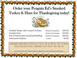 order your penguin ed s smoked turkey ham for thanksgiving