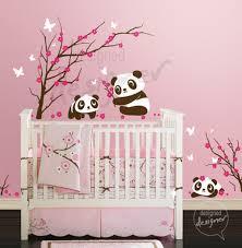 stickers panda chambre bébé panda bedroom decor images baby shower ideas