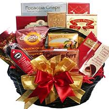 food gift basket happy times gourmet food and snacks gift basket