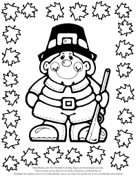 thanksgiving coloring pages kids coloring pages