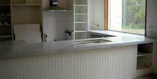 kitchen bench top white carrara marble stonemasons melbourne
