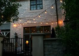 edison bulb patio lights what no one tells you about cafe lighting