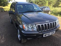 jeep grand cherokee overland jeep grand cherokee overland 2 7 crd 2002 in bonnybridge
