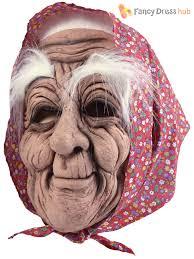 old man mask for halloween mens old man wizard latex mask u0026 grey hair halloween fancy dress