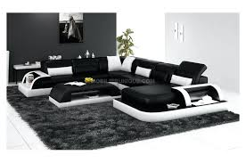 canap design noir et blanc canape noir et blanc design coussin noir et blanc design