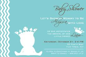 prince baby shower invitations iidaemilia com