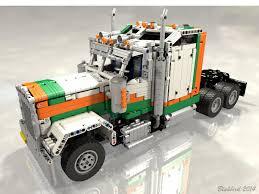 kenworth w900 2014 kenworth w900 truck with instructions a lego creation by jurgen